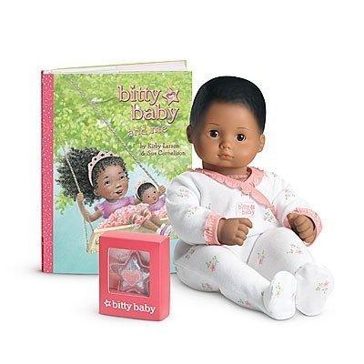 アメリカンガールドール 赤ちゃん おままごと ベビー人形 【送料無料】American Girl - Bitty Baby Doll Medium Skin Textured Brown Hair Brown Eyes BB8アメリカンガールドール 赤ちゃん おままごと ベビー人形