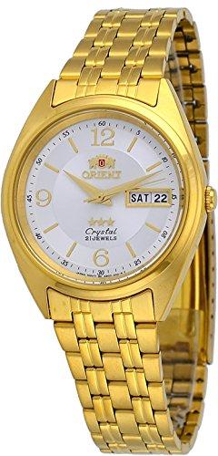 オリエント 腕時計 メンズ 【送料無料】Orient FAB0000CW Men's 3 Star Standard Gold Tone Silver-White Dial Automatic Watchオリエント 腕時計 メンズ