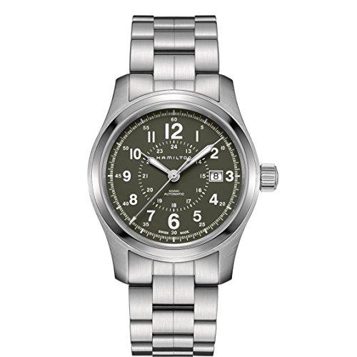 ハミルトン 腕時計 メンズ H70605163 【送料無料】Hamilton H70605163 Silver 42mm Stainless-Steel Khaki Field Auto 42mm Mens Watchハミルトン 腕時計 メンズ H70605163