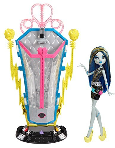 モンスターハイ 人形 ドール [Monster High] Monster High Freaky Fusion Recharge Chamber Frankie Stein Doll and Playset BJR46 [parallel import goods]モンスターハイ 人形 ドール
