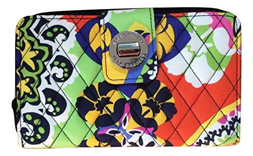 ヴェラブラッドリー ベラブラッドリー アメリカ 日本未発売 財布 14442-195 【送料無料】Vera Bradley Turnlock Wallet (Rio with Navy Interiors)ヴェラブラッドリー ベラブラッドリー アメリカ 日本未発売 財布 14442-195