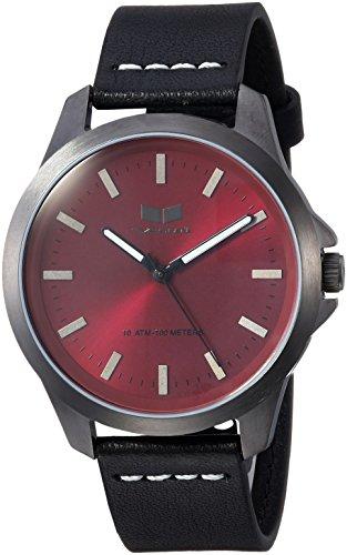 ベスタル ヴェスタル 腕時計 レディース HEI393L14.BKWH Vestal Stainless Steel Analog-Quartz Watch with Leather Strap, Black, 18 (Model: HEI393L14.BKWH)ベスタル ヴェスタル 腕時計 レディース HEI393L14.BKWH