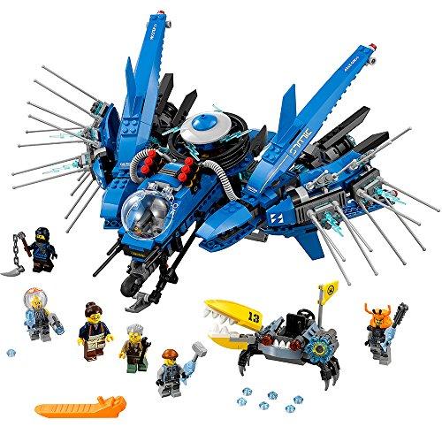 レゴ ニンジャゴー 6136342 【送料無料】LEGO Ninjago Movie Lightning Jet 70614 Building Kit (876 Piece)レゴ ニンジャゴー 6136342