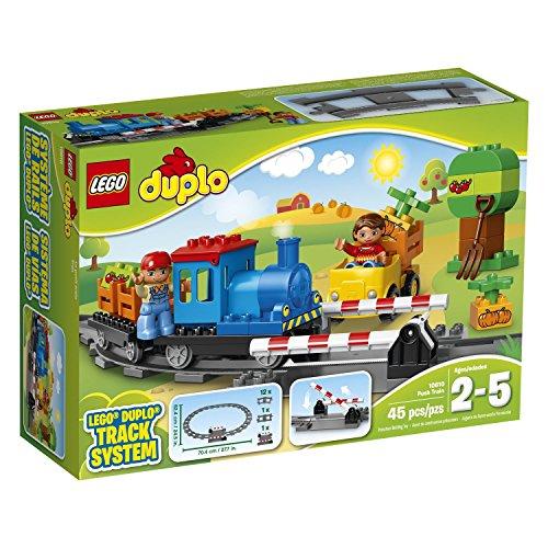レゴ デュプロ LEGO Duplo 10810 45 Piece Push Train Track Systemレゴ デュプロ