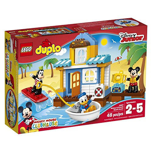 レゴ デュプロ 48 Piece, Beach House Building Kit, 9