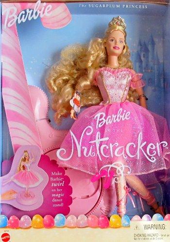 バービー バービー人形 日本未発売 【送料無料】Barbie in The Nutcracker SUGARPLUM PRINCESS DOLL w DANCE STAND (2001)バービー バービー人形 日本未発売