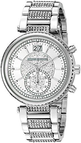 マイケルコース 腕時計 レディース 母の日特集 マイケル・コース MK6281 【送料無料】Michael Kors Women's Sawyer Silver-Tone Watch MK6281マイケルコース 腕時計 レディース 母の日特集 マイケル・コース MK6281