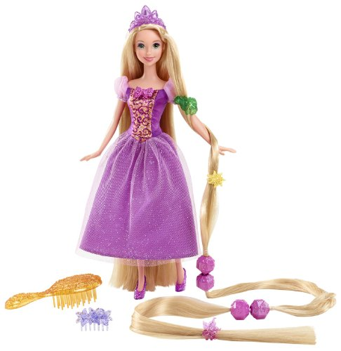 塔の上のラプンツェル タングルド ディズニープリンセス Y0973 【送料無料】Disney Princess Hairplay Rapunzel Doll塔の上のラプンツェル タングルド ディズニープリンセス Y0973