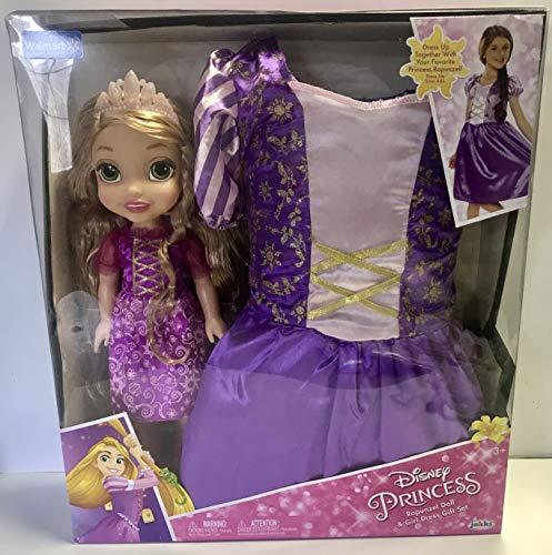 塔の上のラプンツェル タングルド ディズニープリンセス Disney princess rapunzel doll and girl dress gift set walmart exclusive塔の上のラプンツェル タングルド ディズニープリンセス