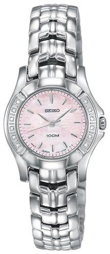 セイコー 腕時計 レディース SXGN49 【送料無料】Seiko Women's SXGN49 Diamond Silver-Tone Watchセイコー 腕時計 レディース SXGN49
