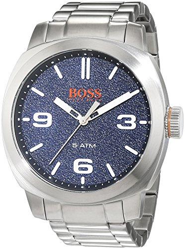 ヒューゴボス 高級腕時計 メンズ 1513419 BOSS Orange Men's Quartz Watch with Stainless-Steel Strap, Silver, 22 (Model: 1513419)ヒューゴボス 高級腕時計 メンズ 1513419