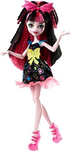 モンスターハイ 人形 ドール DVH67 【送料無料】Monster High Electrified Hair-Raising Ghouls Draculaura Dollモンスターハイ 人形 ドール DVH67