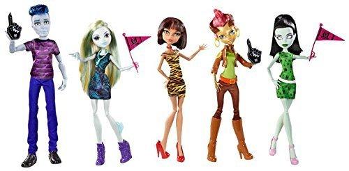 モンスターハイ 人形 ドール Monster High Monster High We Are Monster High Student Disembody doll 5 body set parallel import goodsモンスターハイ 人形 ドール