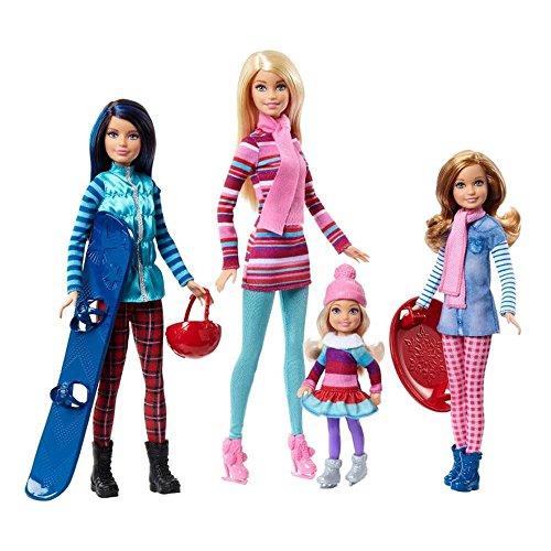 バービー バービー人形 チェルシー スキッパー ステイシー FDR56 Barbie Sisters Winter Getaway Fashion Dollsバービー バービー人形 チェルシー スキッパー ステイシー FDR56