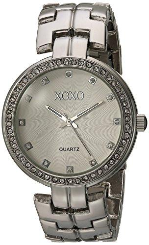 クスクス キスキス 腕時計 レディース xo261 XOXO Women's Analog-Quartz Watch with Alloy Strap, Silver, 10 (Model: XO261)クスクス キスキス 腕時計 レディース xo261