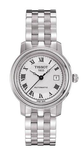 腕時計 ティソ レディース T0452071103300 【送料無料】Tissot Women's T0452071103300 Bridgeport Stainless Steel Bracelet Watch腕時計 ティソ レディース T0452071103300