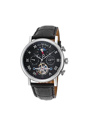 ルシアンピカール 腕時計 メンズ 【送料無料】Lucien Piccard Ottoman Day-Night Automatic Men's Watch LP-40012A-01ルシアンピカール 腕時計 メンズ