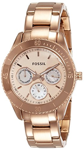 フォッシル 腕時計 レディース ES2859 【送料無料】Fossil Women's Stella Quartz Stainless Steel Chronograph Watch, Color: Rose Gold (Model: ES2859)フォッシル 腕時計 レディース ES2859