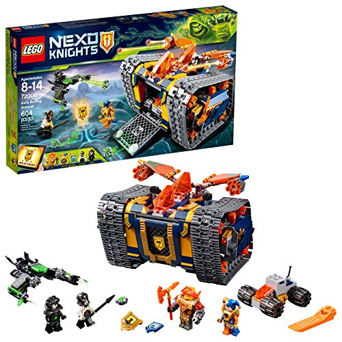 レゴ ネックスナイツ 6210320 LEGO NEXO KNIGHTS Axl's Rolling Arsenal 72006 Building Kit (604 Piece)レゴ ネックスナイツ 6210320
