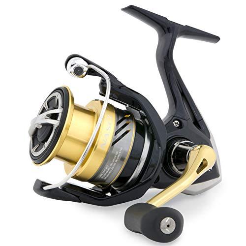リール Shimano シマノ 釣り道具 フィッシング Nasci 2500 HG S FB, Spinning Fishing Reel with Shallow Spool, NAS2500HGSFBリール Shimano シマノ 釣り道具 フィッシング