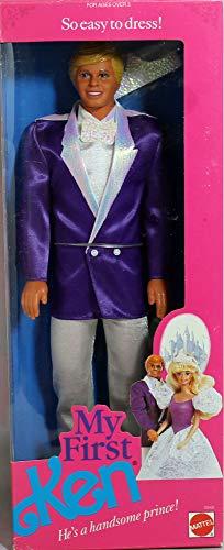 バービー バービー人形 ケン Ken 9940 【送料無料】Barbie My First KEN Doll - He's a Handsome Prince! (1989)バービー バービー人形 ケン Ken 9940