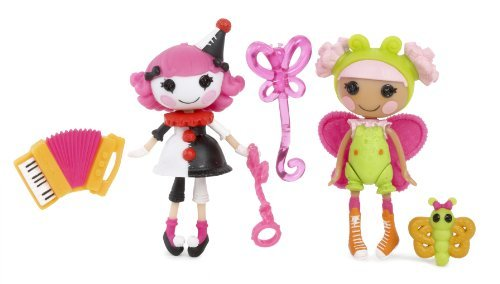 ララループシー 人形 ドール Mini Lalaloopsy Fun House Charlotte and Blossom, Pack of 2 by Lalaloopsyララループシー 人形 ドール