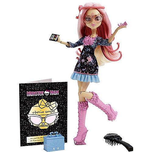 モンスターハイ 人形 ドール Monster High Frights Camera Action Hauntlywood Viperine Gorgon Dollモンスターハイ 人形 ドール
