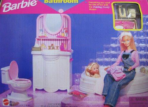 2018セール バービー バービー人形 日本未発売 日本未発売 プレイセット House 日本未発売 アクセサリ 67555-92 Barbie Folding Pretty House BATHROOM Playset (1997 Arcotoys, Mattel)バービー バービー人形 日本未発売 プレイセット アクセサリ 67555-92, 若林区:d605c6fd --- canoncity.azurewebsites.net