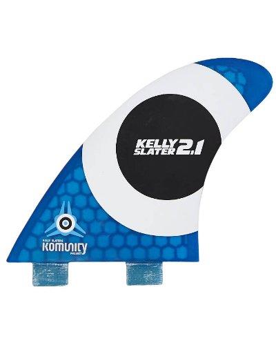 最安値に挑戦! サーフィン FCS フィン マリンスポーツ Kelly Fins Slater's Komunity Project FCS フィン Surfboard Fins 2.1 Honeycomb - Blueサーフィン フィン マリンスポーツ, 神戸ミニアチュール:3914b24f --- canoncity.azurewebsites.net