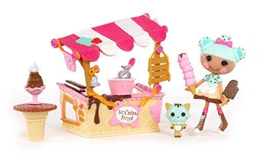 ララループシー 人形 ドール Import Rararupushi doll Doll Mini Lalaloopsy Playset- Scoop's Ice Cream Shop [parallel import goods]ララループシー 人形 ドール