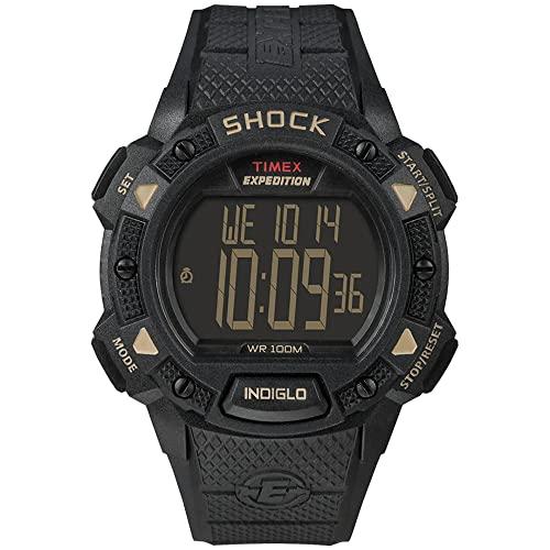 タイメックス 腕時計 メンズ Timex Expedition Shock Chrono Alarm Timer Watch for Men - Model T49896タイメックス 腕時計 メンズ