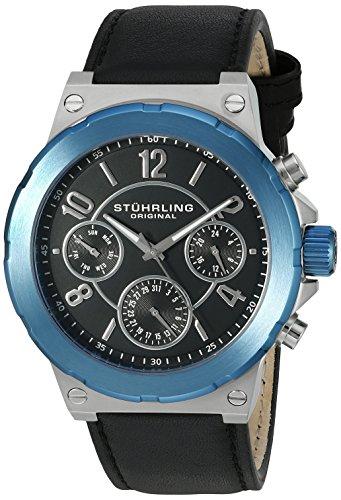 ストゥーリングオリジナル 腕時計 メンズ 701.02 【送料無料】Stuhrling Original Men's 701.02 Leisure Gen X Sirocco Quartz Day and Date Blue Watchストゥーリングオリジナル 腕時計 メンズ 701.02