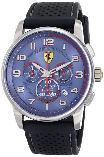 フェラーリ 腕時計 メンズ 830062 【送料無料】Ferrari Men's 830062 Analog Display Japanese Quartz Black Watchフェラーリ 腕時計 メンズ 830062
