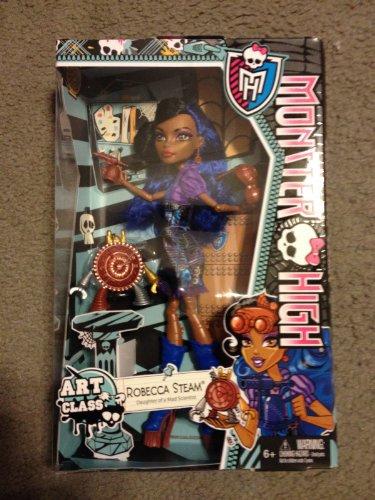 モンスターハイ 人形 ドール 【送料無料】Monster High Art Class Dolls-Robecca Steamモンスターハイ 人形 ドール