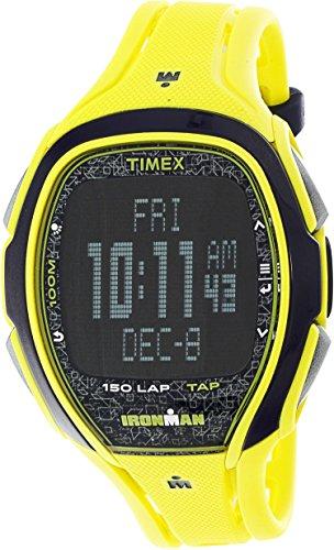腕時計 タイメックス メンズ TW5M08300 【送料無料】Timex Ironman Sleek TW5M08300 Yellow Resin Quartz Diving Watch腕時計 タイメックス メンズ TW5M08300