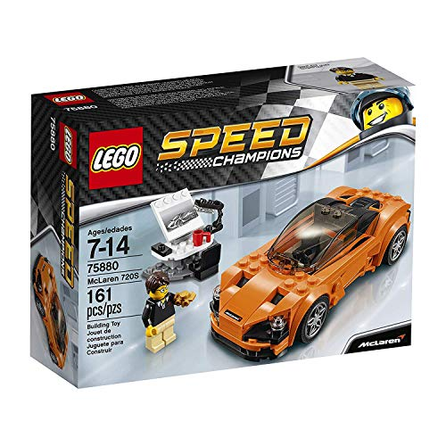 レゴ 75880 LEGO 75880 Speed Champions McLaren 720S Building Toy, 161pcs, Orange/Blackレゴ 75880