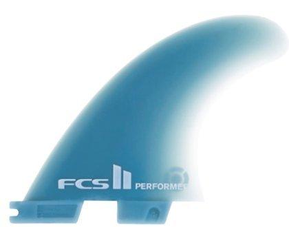 サーフィン フィン マリンスポーツ FCS II Performer Glass Flex Surfboard Tri Fin Set - Smallサーフィン フィン マリンスポーツ