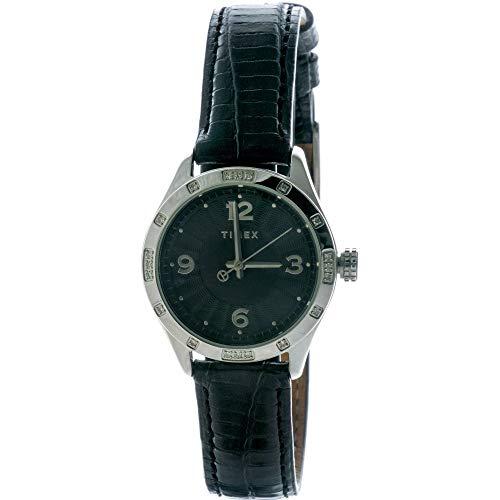 タイメックス 腕時計 レディース T2M700 【送料無料】Lda Black Diamond Strapタイメックス 腕時計 レディース T2M700