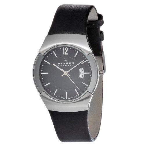スカーゲン 腕時計 メンズ 981XLSLB Skagen Men's 981XLSLB Stainless Steel Black Dial Watchスカーゲン 腕時計 メンズ 981XLSLB