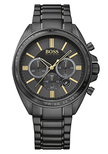 ヒューゴボス 高級腕時計 メンズ DRIVER SPORT CHRONO BLACK&GOLD Boss DRIVER SPORT 1513277 Mens Chronograph very sportyヒューゴボス 高級腕時計 メンズ DRIVER SPORT CHRONO BLACK&GOLD