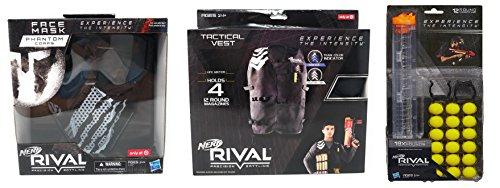 ナーフライバル アメリカ 直輸入 リフィル 銃鉄砲 Nerf Rival Phantom Mask, Phantom Vest and 18 Ammo Bundleナーフライバル アメリカ 直輸入 リフィル 銃鉄砲