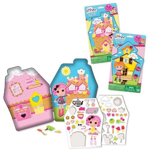 ララループシー 人形 ドール Lalaloopsy Gel Stickers in Tin (Styles may vary) by Lalaloopsyララループシー 人形 ドール