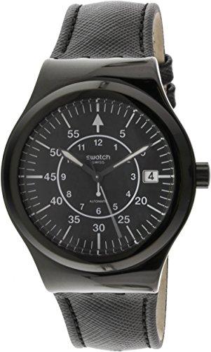 スウォッチ 腕時計 メンズ YIB400 【送料無料】Swatch Irony Automatic Movement Black Dial Unisex Watch YIB400スウォッチ 腕時計 メンズ YIB400