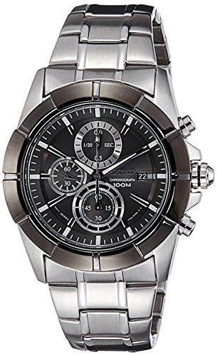 セイコー 腕時計 メンズ SNDE69P1 Seiko Lord Chronograph Black Dial Stainless Steel Mens Watch SNDE69 by Seiko Watchesセイコー 腕時計 メンズ SNDE69P1
