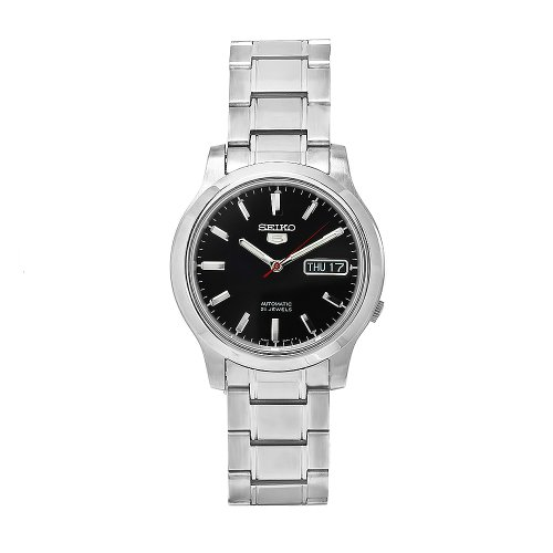 腕時計 セイコー メンズ SNK795K1S 【送料無料】Seiko Men's SNK795K1S Stainless-Steel Analog with Black Dial Watch腕時計 セイコー メンズ SNK795K1S