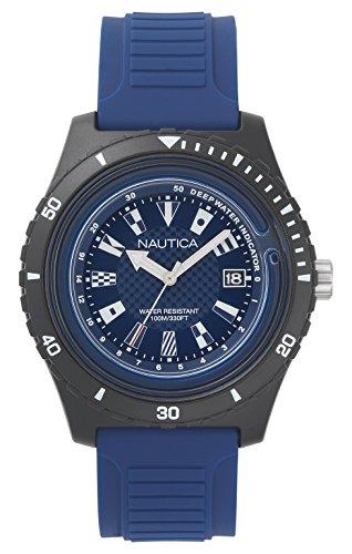 ノーティカ 腕時計 メンズ NAPIBZ008 Nautica Men's Ibiza Stainless Steel Quartz Sport Watch with Silicone Strap, Blue, 22 (Model: NAPIBZ008)ノーティカ 腕時計 メンズ NAPIBZ008