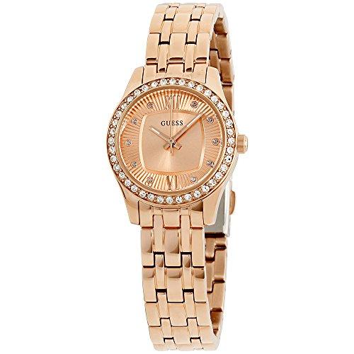 ゲス GUESS 腕時計 レディース Guess-W0762L3_E1 GUESS W0762L3,Ladies Dress,Stainless Steel,Rose Gold-Tone,Crystal Accented Bezel,30m WRゲス GUESS 腕時計 レディース Guess-W0762L3_E1