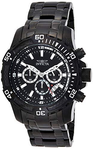 インヴィクタ インビクタ プロダイバー 腕時計 メンズ 24858 【送料無料】Invicta Men's Pro Diver Quartz Watch with Stainless-Steel Strap, Black, 19 (Model: 24858)インヴィクタ インビクタ プロダイバー 腕時計 メンズ 24858