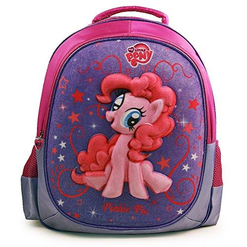 マイリトルポニー ハズブロ hasbro、おしゃれなポニー かわいいポニー ゆめかわいい 608389PS My Little Pony Deluxe 3D School Backpackマイリトルポニー ハズブロ hasbro、おしゃれなポニー かわいいポニー ゆめかわいい 608389PS