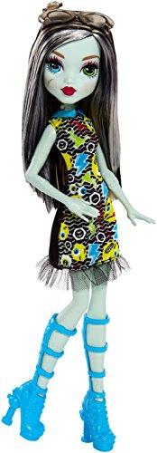 モンスターハイ 人形 ドール DVH19 【送料無料】Monster High Frankie Stein Girl Doll - Wearing Emoji-Inspired Monster High Doll Clothesモンスターハイ 人形 ドール DVH19